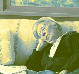 napping woman courtesy of eflon