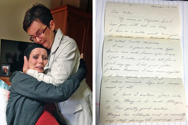 After decades as pen pals friends say final goodbyes Last Goodbye